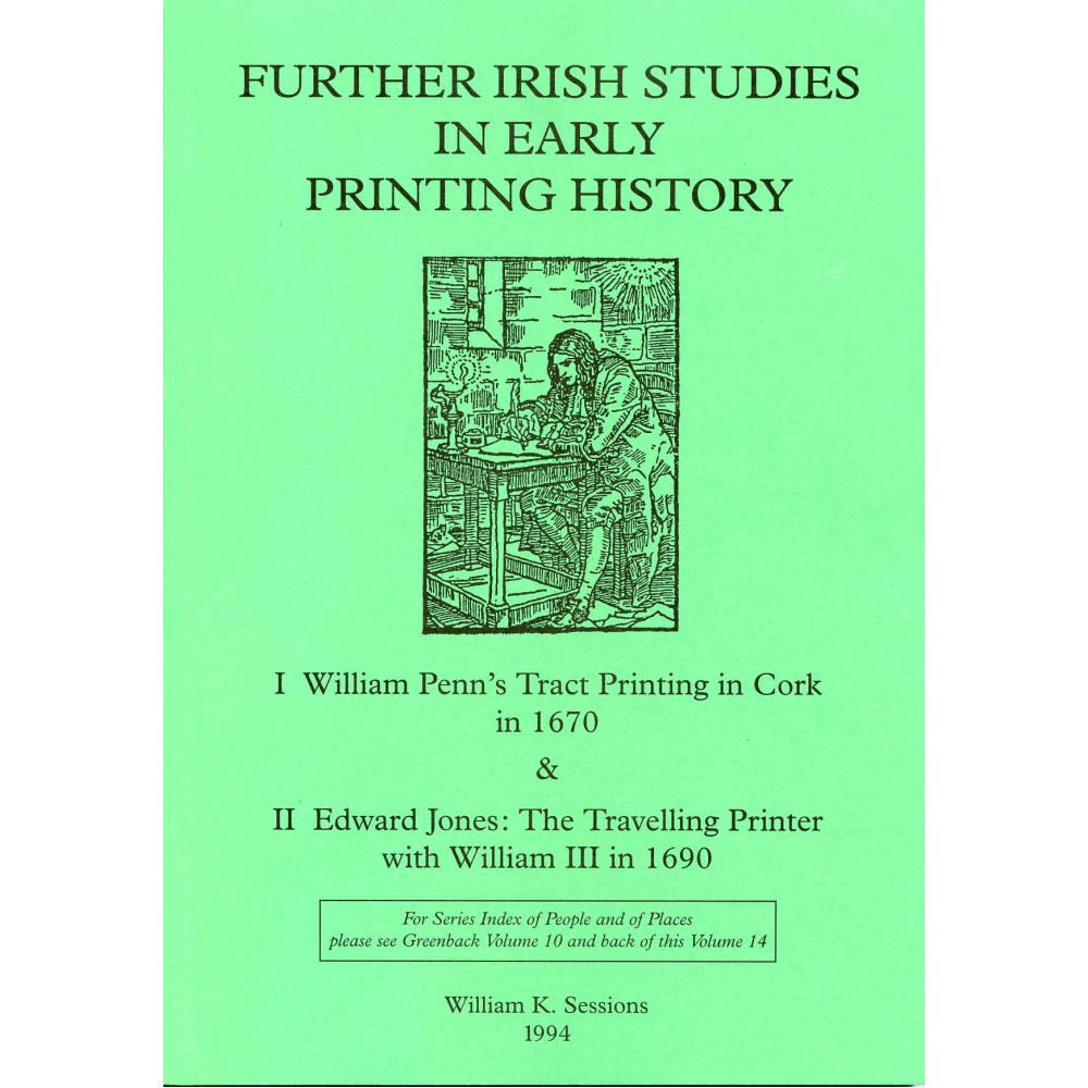 14. IRELAND: WILLIAM PENN 1670 : EDWARD JONES 1690