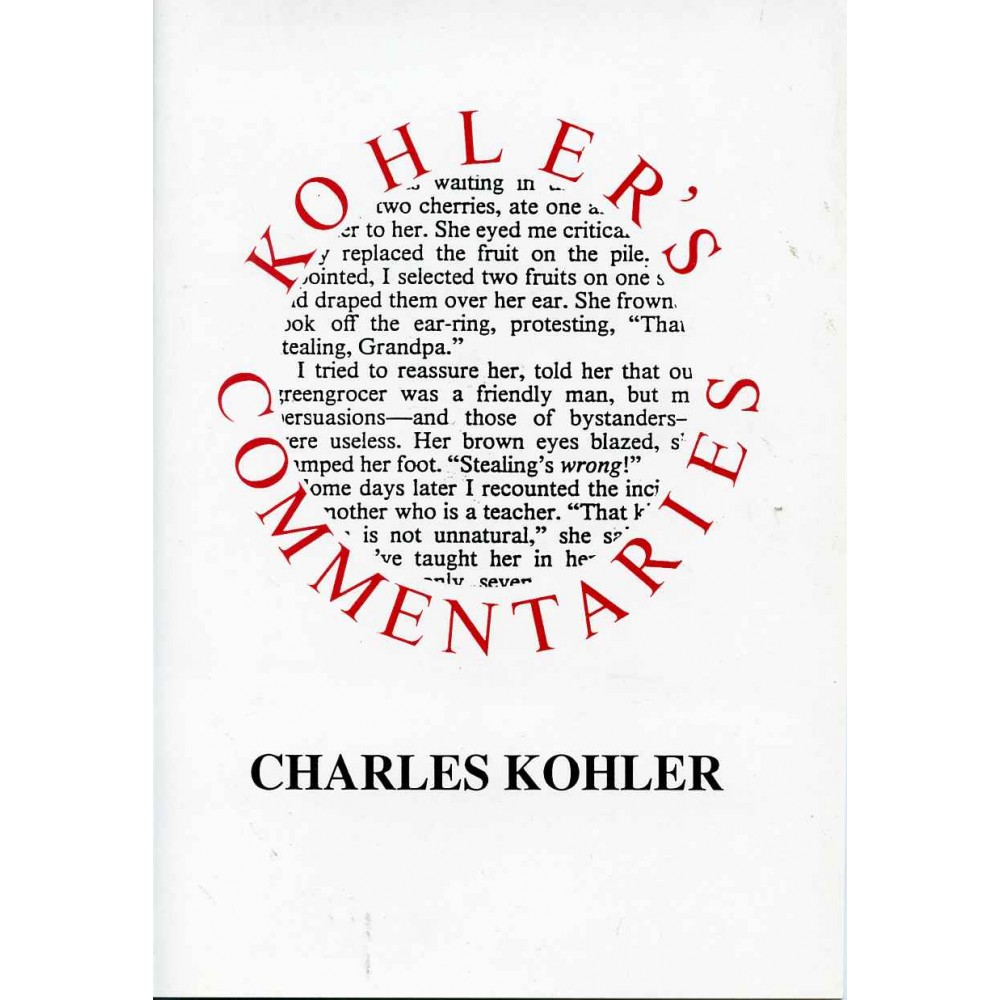 KOHLER'S COMMENTARIES
