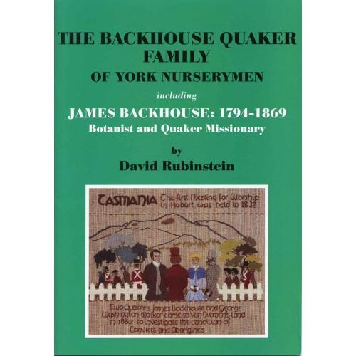 The Backhouse Quaker Family of york nurserymen